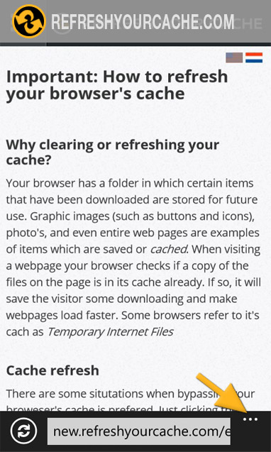 how to clear cache on internet explorer 10